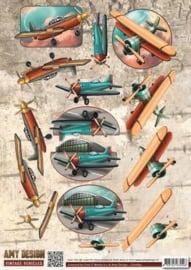 Amy Design - CD10847 -  Vintage Vehicles - Planes