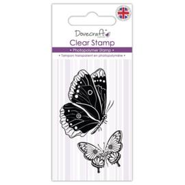 Dovecraft Clear Stamp Butterflies (DCSTP074)