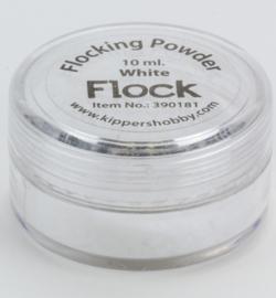 390181 Flock powder white