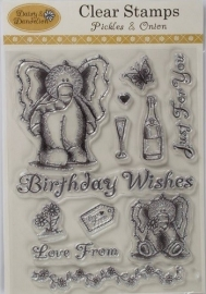 DND 9071003  Daisy & Dandelion Clear Stamps - Pickles & Onion