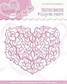 Precious Marieke - Romance - Filigree heart PM10027