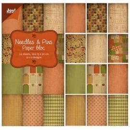 Joy!Crafts  papierblok Noor 6011/0317 15x30cm