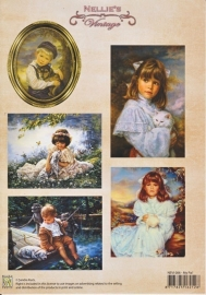 "A4 knipvel Nellie's colour Vintage NEVI006 ""My Pal"""