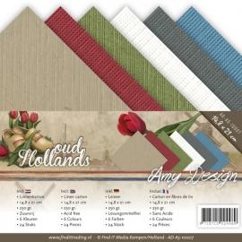 Amy Design - AD-A5-10007 Linnenpakket - A5 - Oud Hollands