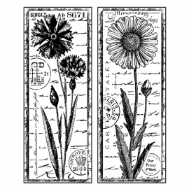 Crafty Individuals CI-185 Tall Wild Flowers