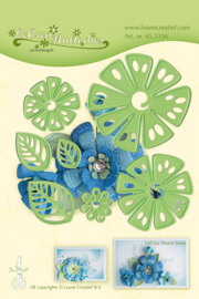 LeCrea Multi die flower 014 Fantasy Flower 45.5336