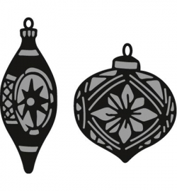 Marianne Design CR1379 Tiny's ornaments baubles