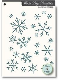 Memorybox 88586 Large Snowflakes
