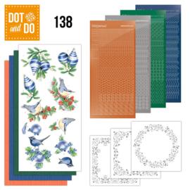 Dot and Do 138 Blue Christmas DODO138