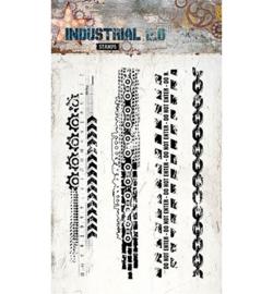 Studio Light - STAMPIN254 - Industrial 2.0, Nr. 254