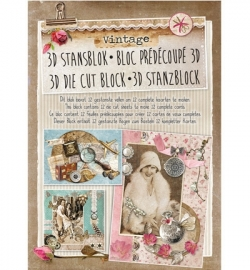 Studio Light - Vintage STANSBLOKVI24