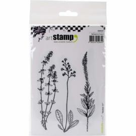 Carabelle Studio SA60235 Cling Stamp A6-Herbarium