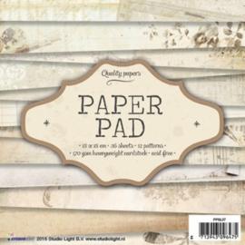 Studio Light Paper pad 36 vel 12 designs nr 37 PPSL37