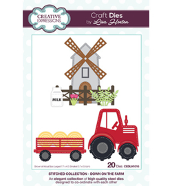 Creative Expressions - CEDLH1016 - Stitched Collection Down on the Farm