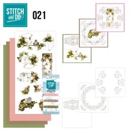 STDO021 Stitch and Do 21 - Rustic Christmas
