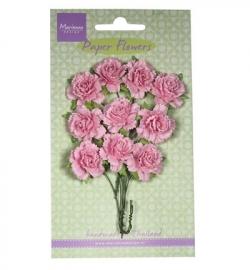 Marianne Design Paper Flowers Carnations - light pink RB2257