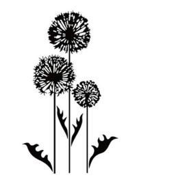 Nellie Snellen - EFCO003 Embossing folders - Condolence flowers-3