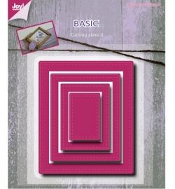 6002/0489 Cutting & Embossing - Basic Mery rectangle