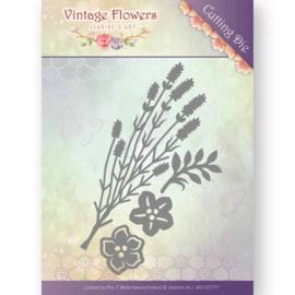 Jeanine's Art - JAD10037 - Vintage Flowers - Vintage Foliage