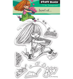 Penny Black - clear stamps  - Bowl Of ... 30-397