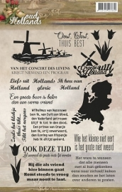 Amy Design - ADCS10006 Clearstamp - Oud Hollands - Tekst