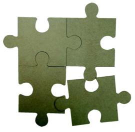 6200/0169 MDF puzzelstukken