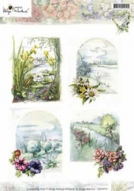 CD10717 3D Knipvel - Studio Martare - Pictures - Lente bloemen