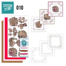 STDO010 Stitch and Do 10 - Moederdag