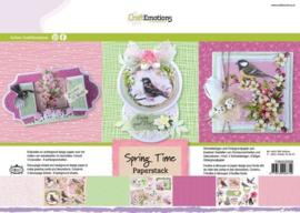 CraftEmotions - Paperpad - Springtime 118040/0208