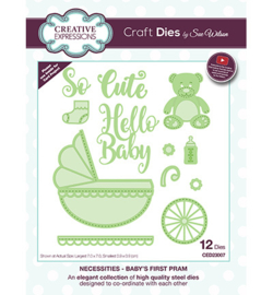 Creative Expressions CED23007 - Baby's First Pram
