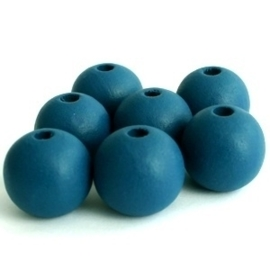 4805 - HOUT ROND 12 MM PETROL BLAUW