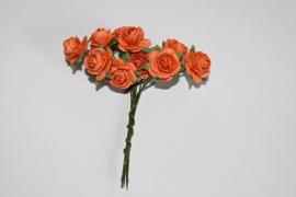 Bloemen oranje 9