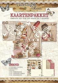 Kaartenpakket - Studio Light - Vintage Line - KPVL03