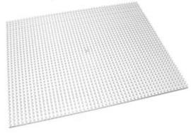 Pixelhobby basisplaat transparant 6x6cm