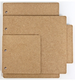 460.440.250 MDF Mini Album Rectangle