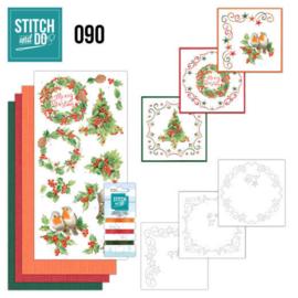 STDO090 Stitch and Do 90 - Merry Christmas