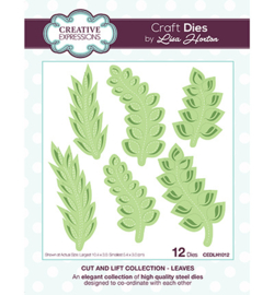 Creative Expressions - CED1497 - Passion FlowerCEDLH1012 - Cut and Lift Collection Leaves