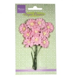 Marianne Design Paper Flowers Daisies - light pink RB2251