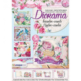 Studio Light - Diorama Stansblok - Roses nr.05 - DIORAMABLOKSL05