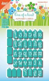 6002/1049 Alphabet Labels