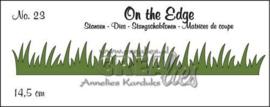 Crealies On the Edge Stans 115634/1823 Grasrand Clote23