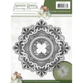 Precious Marieke - PM10091 - Fantastic Flowers - Round flowers frame