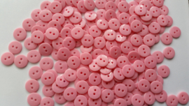 Baby roze knoopjes 10 stuks 11mm