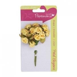 PMA368300  petal posy (12pcs) - lemon rose