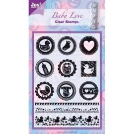 6410/0061 Joy!Crafts Stempel Baby love