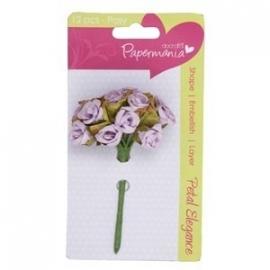 PMA368301  petal posy (12pcs) - lilac rose
