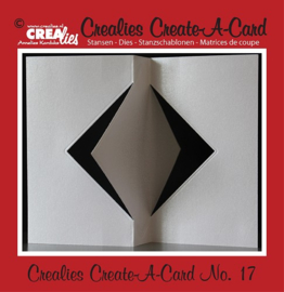Crealies Create A Card stans/die no. 17