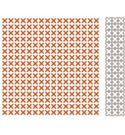 Marianne Design DF3417 Design Folder + die Cross stitch