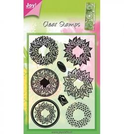 6410/0063 Stempel Wreaths - kransen