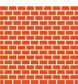 Marianne Design DF3403 Bricks(Includes matching die!)